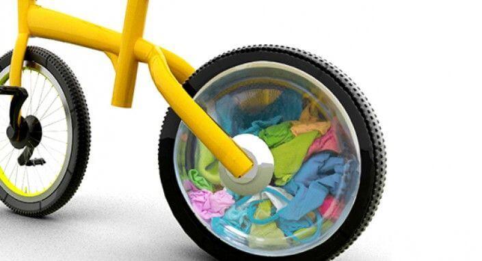 Fietsen-voor-schoon-wasgoed-compressor